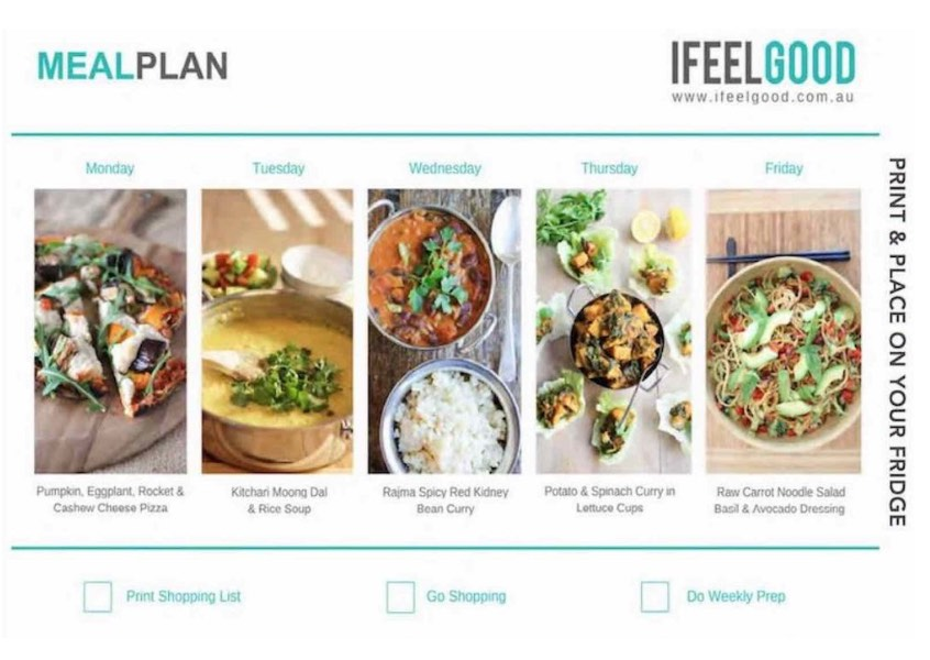 Weeknight Plant Based Meal Plans - I Feel Good Magazine.jpg
