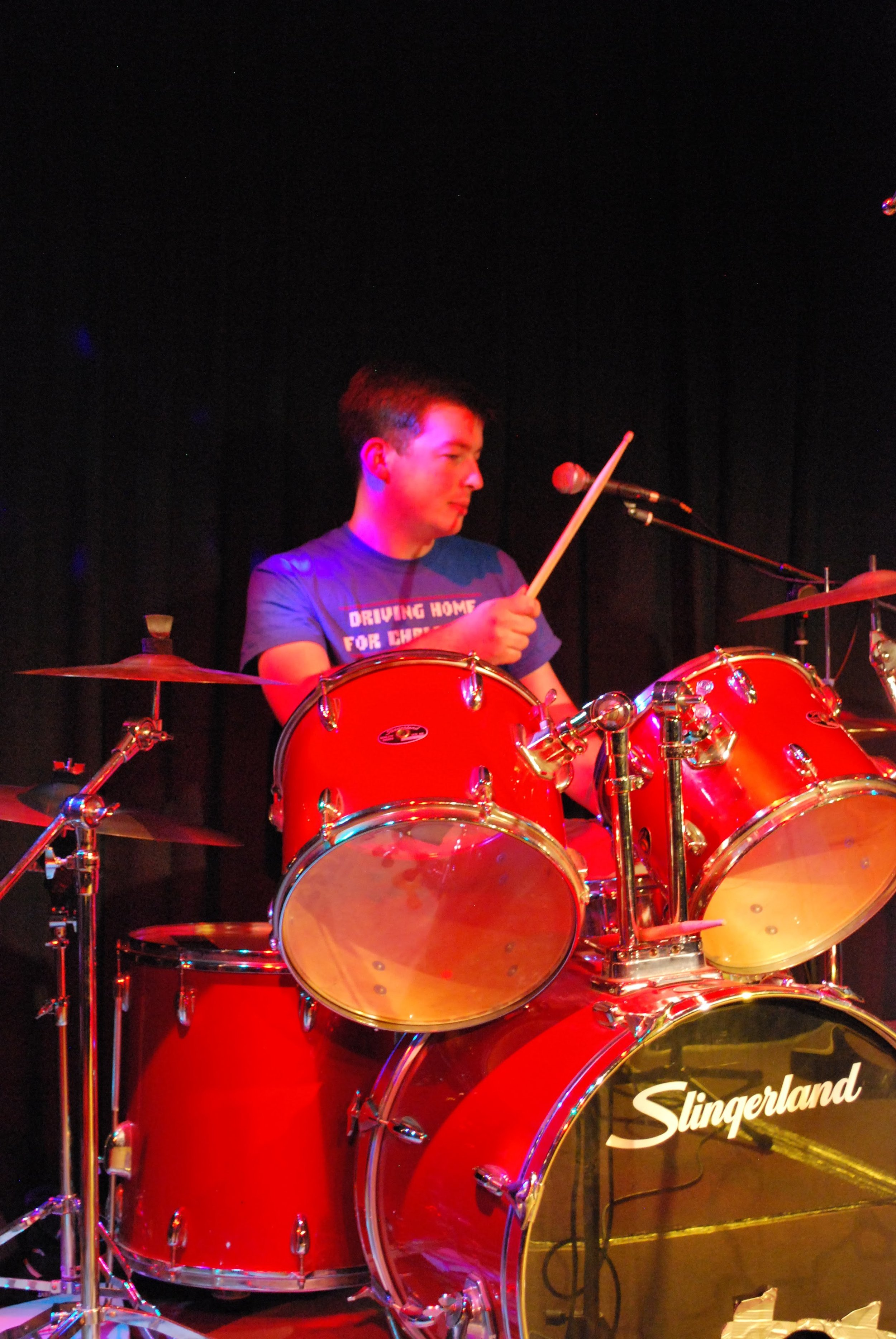 Andy Nicholson - Drums