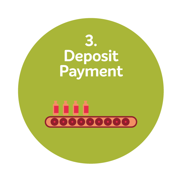 3. Deposit Payment –  After reviewing your survey, we'll recommend which package suits you best and send you an invoice for Deposit Payment which can be made through  PayPal or credit card .