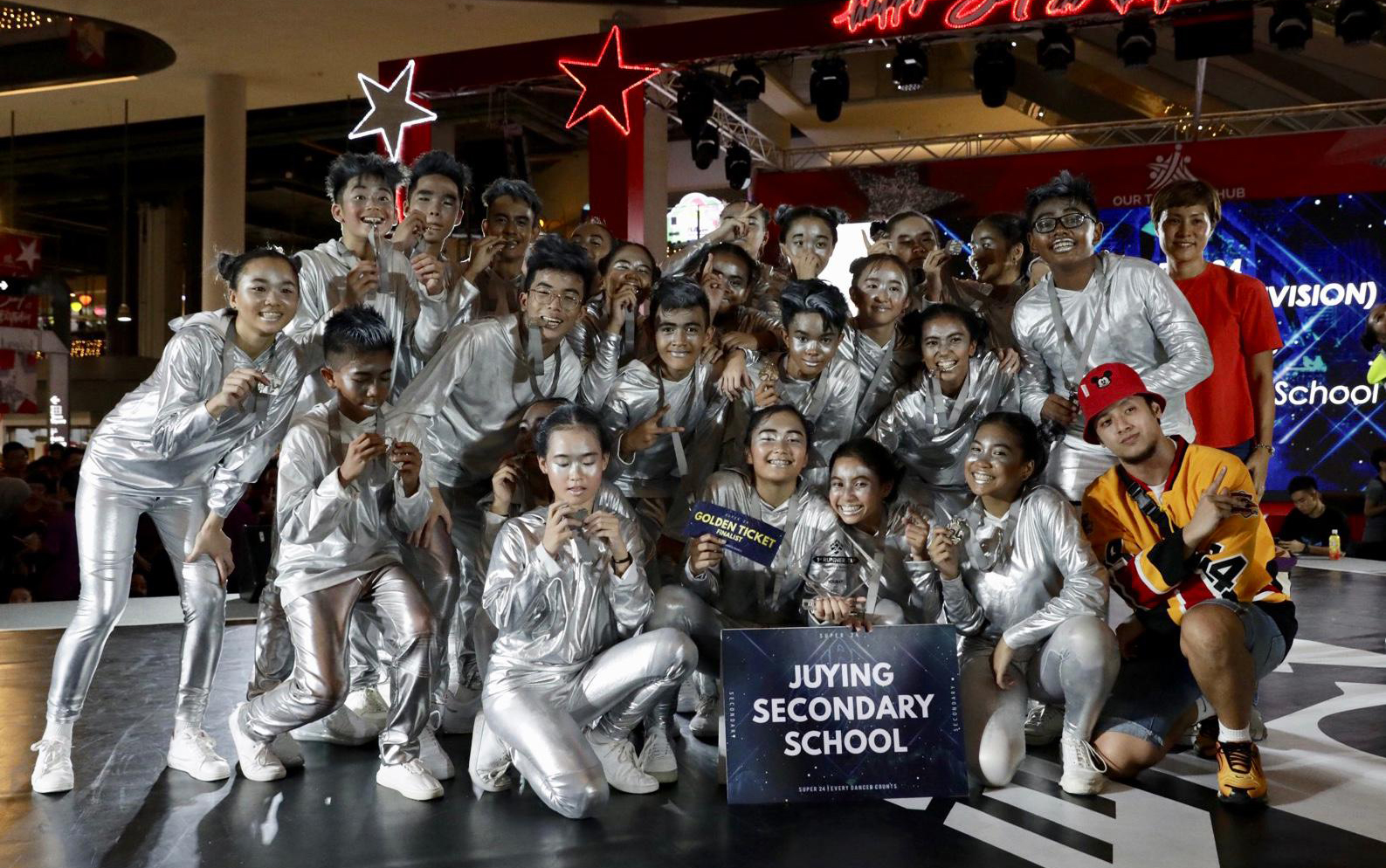 1ST RUNNER UP  - Juying Secondary School