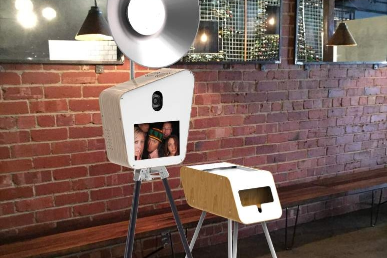 Retro Booth - Retro Booth is a stand alone camera, printer and green-screen that allows all your guests to get involved. You're limited only by your imagination. And you can share directly to social media.