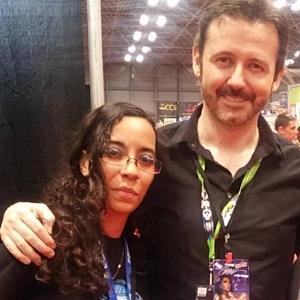 Tatiana with J.Scott Campbell