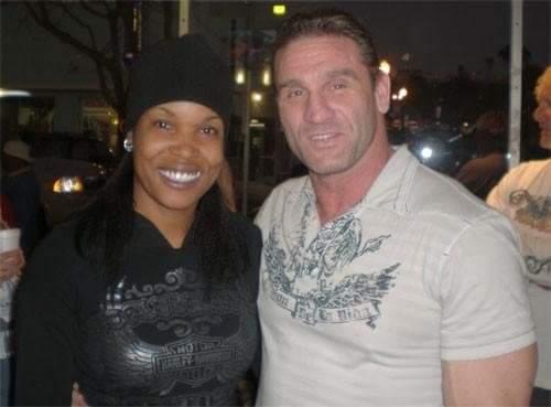 Dawn with UFC Hall of Famer, Ken Shamrock