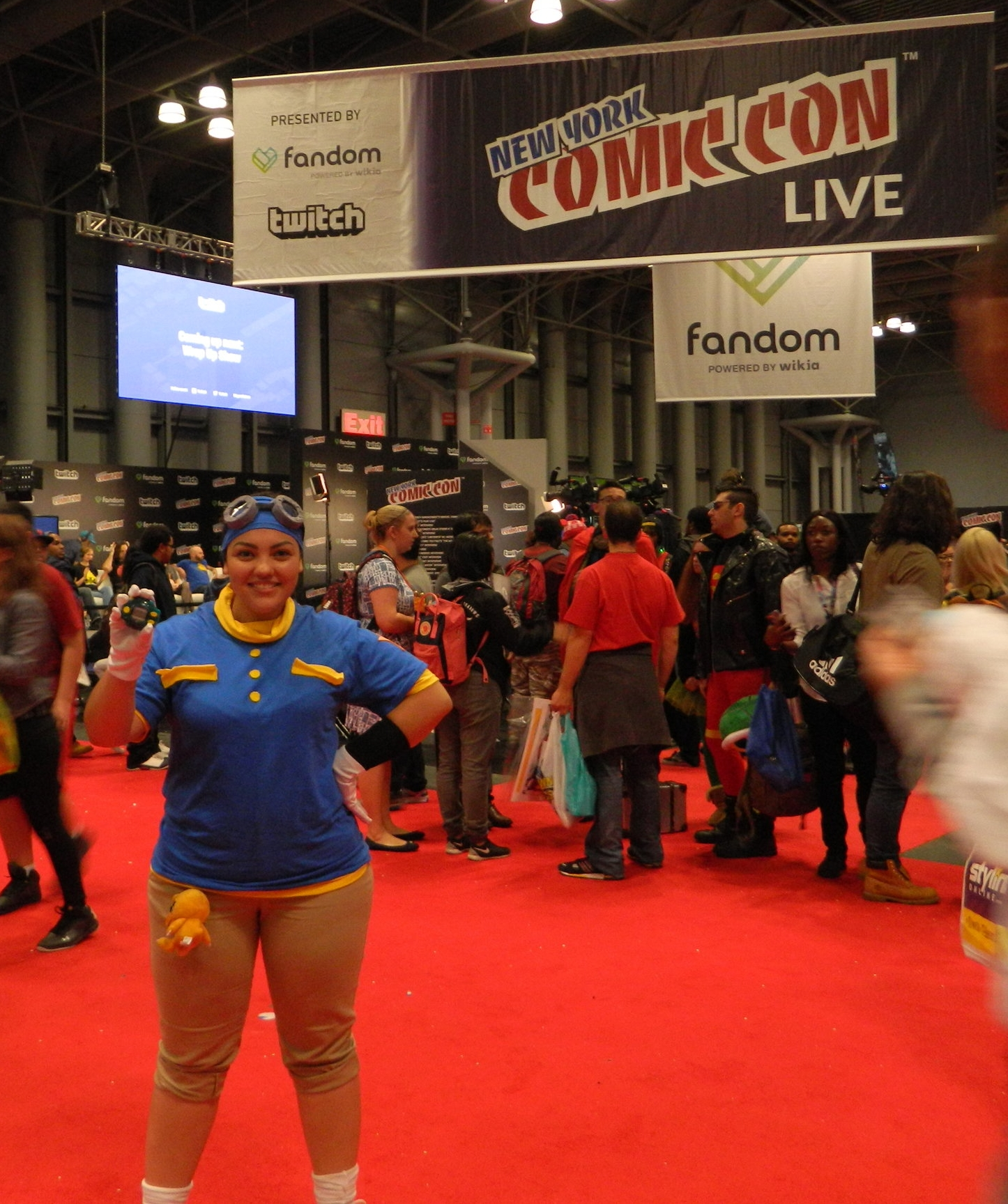 Ana Reporting from 2016 NYCC