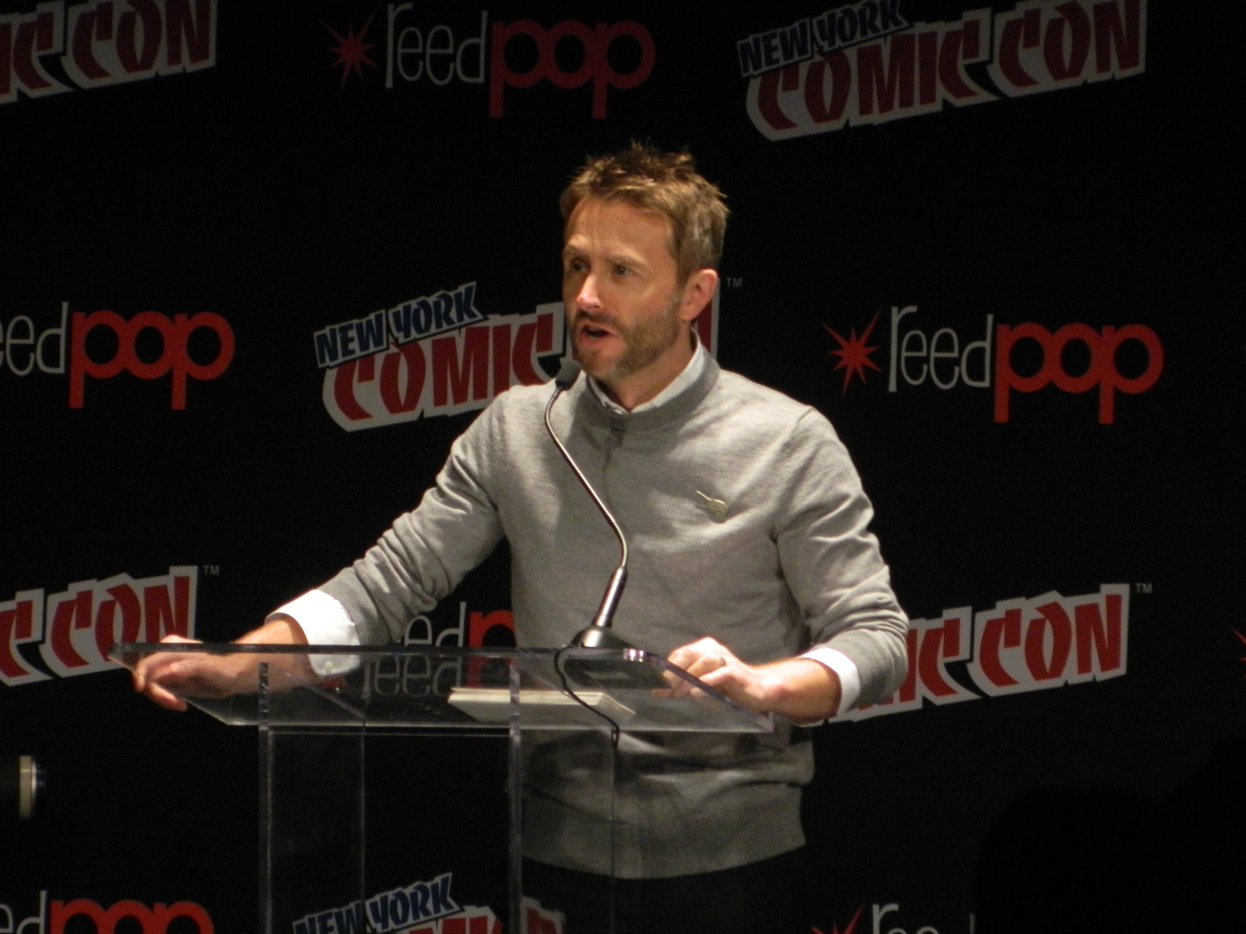Chris Hardwick @ NYCC Walking Dead Panel