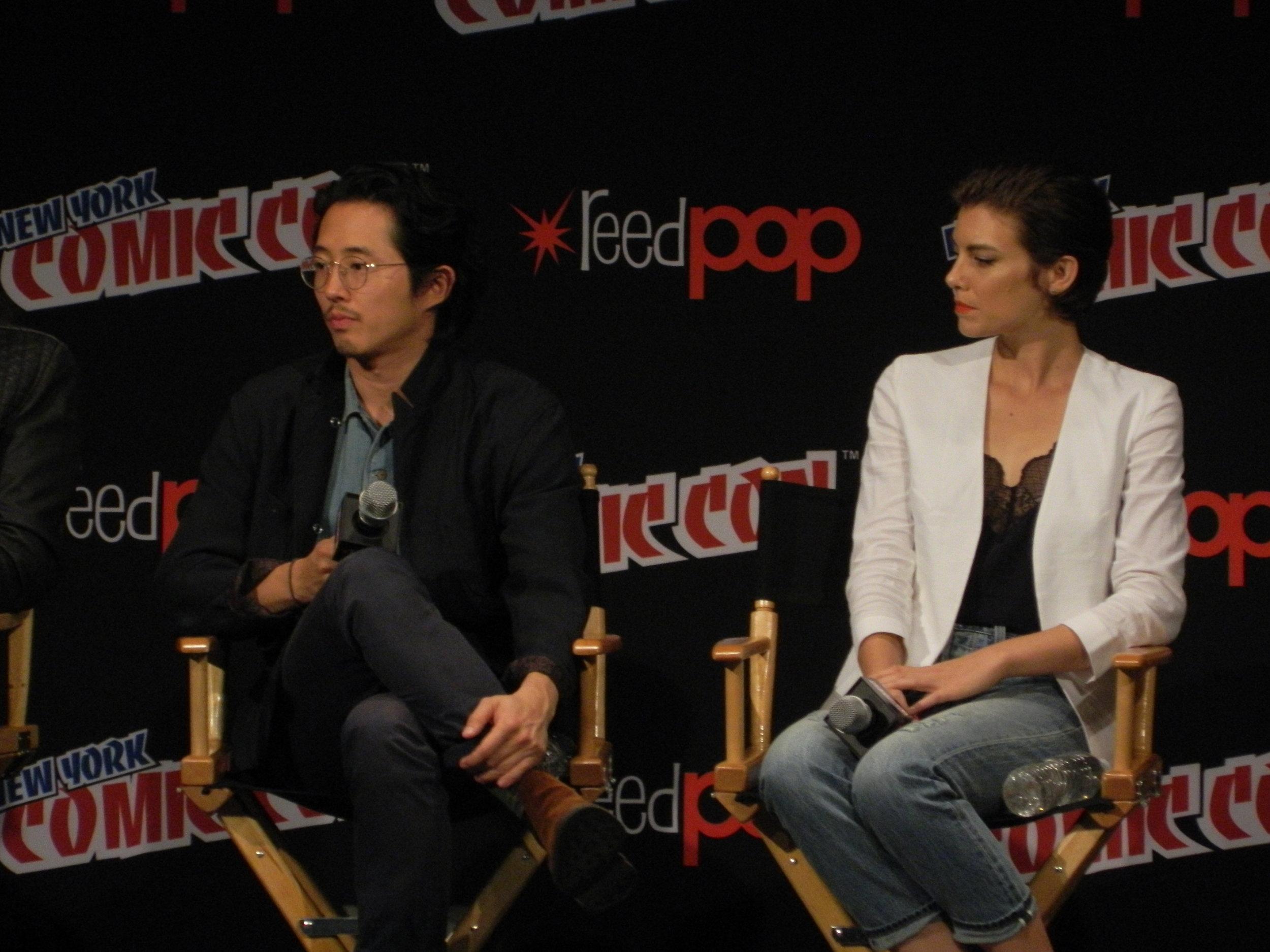 Steven Yeun & Lauren Cohen
