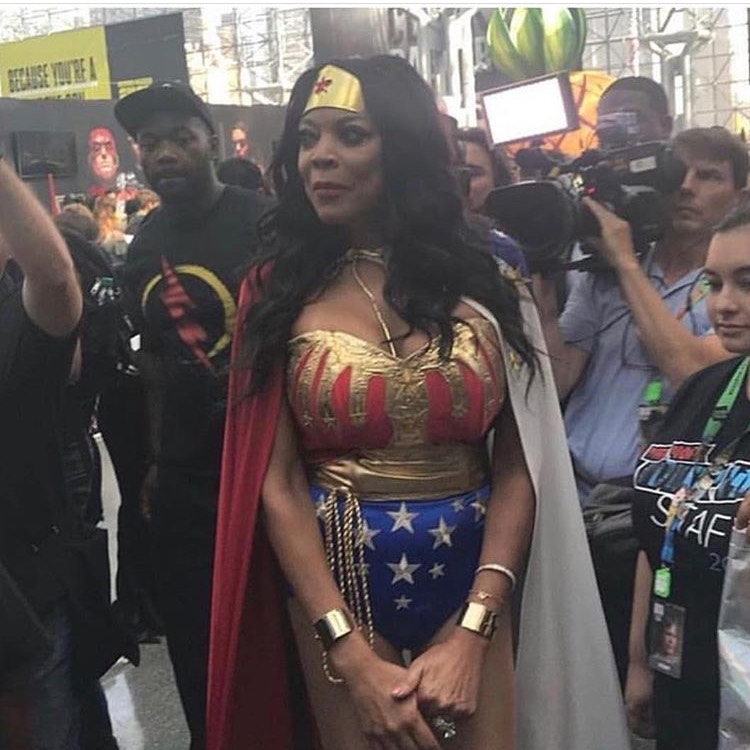 Wendy Williams attends NYCC