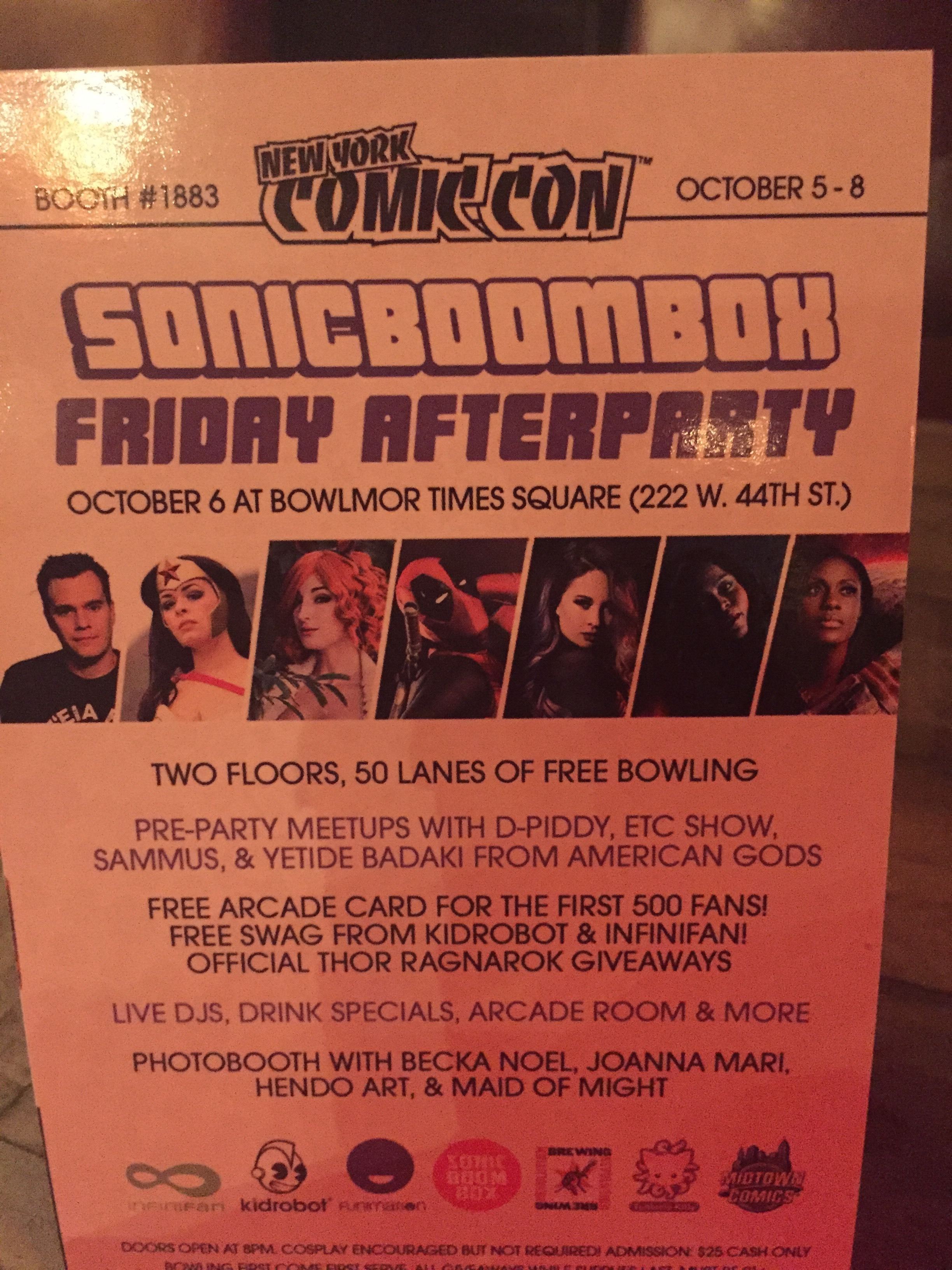 Sonicboombox After Party