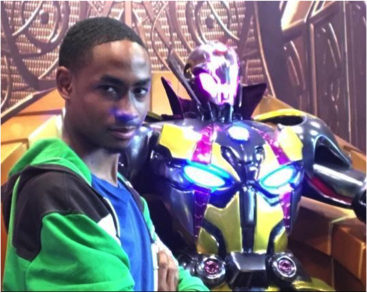 Me with Ultron from Marvel vs Capcom Infinite.
