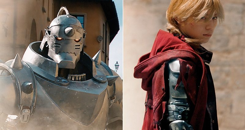 The Elric Brothers: (L to R) Alphonse and Edward Elric