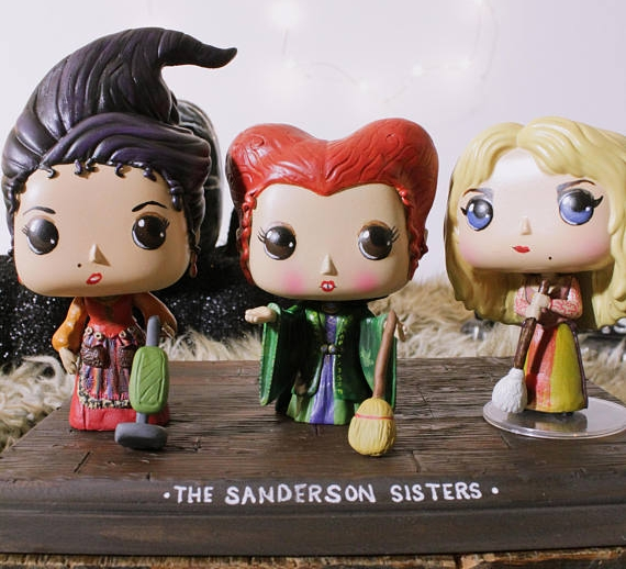 Custom made Funko: the Sanderson Sisters