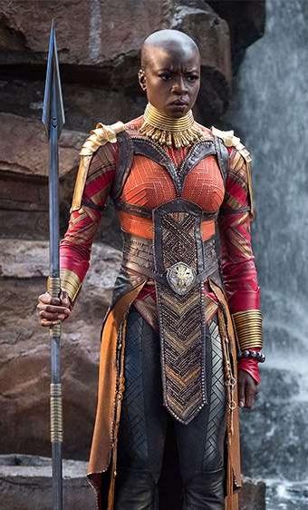 Okoye played by Danai Gurira