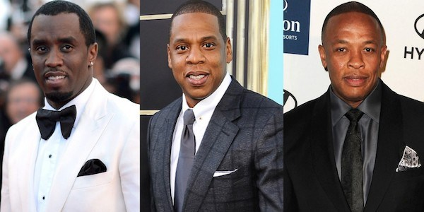 3 Kings (L to R): Diddy, Jay-Z, & Dr. Dre