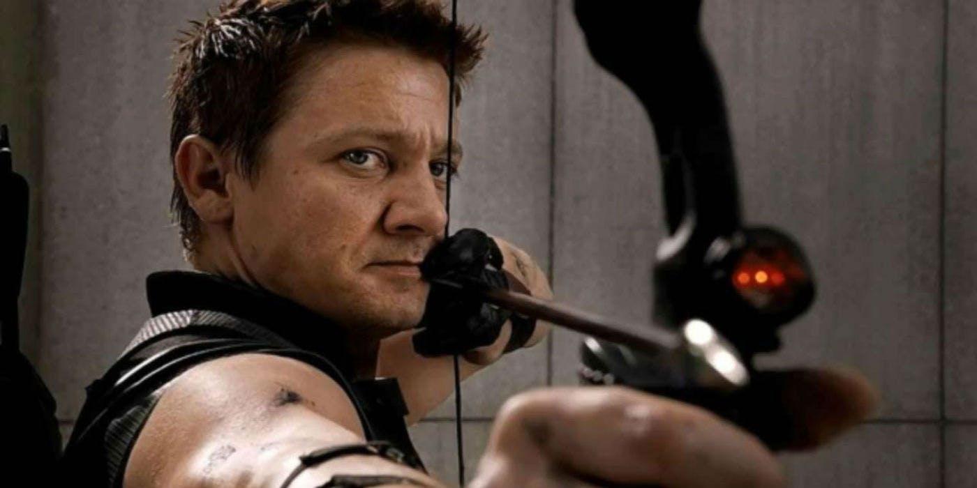 Hawkeye played by Jeremy Renner