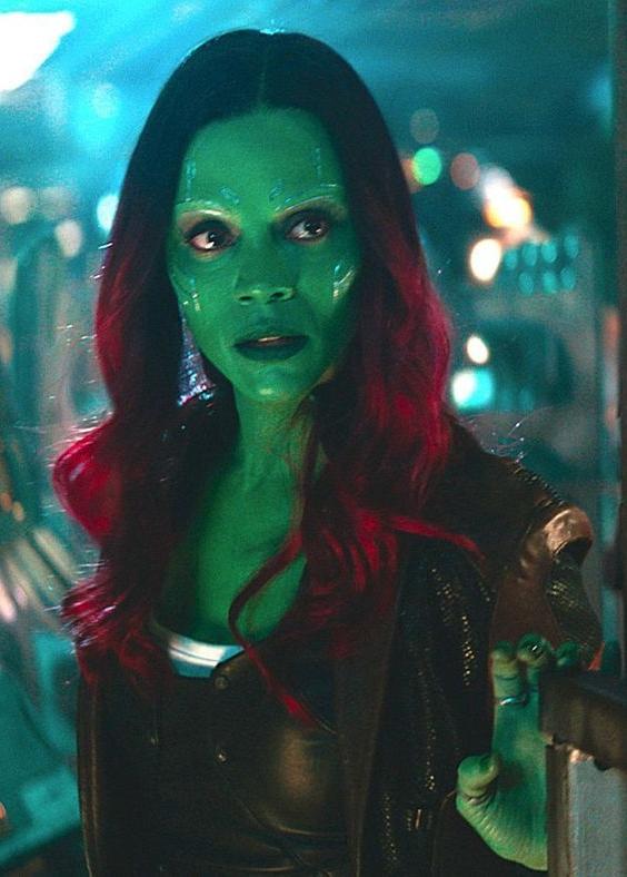 Thanos' adopted daughter Gamora