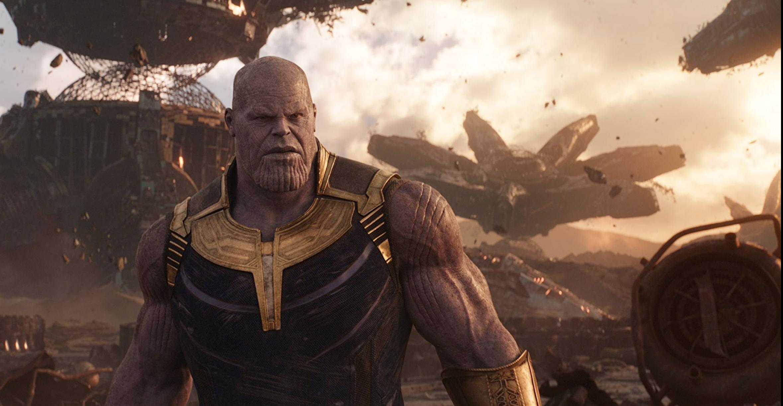Thanos on Titan, His Homeworld