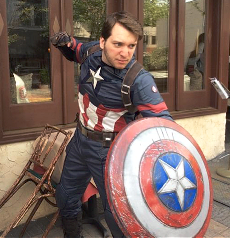 Mike Bufis - Captain America Cosplay