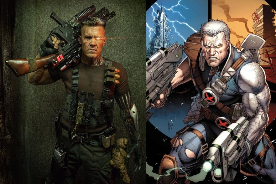 Cable played by Josh Brolin