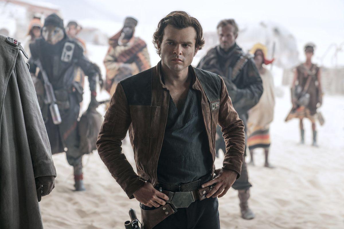 Han Solo played by Alden Ehrenreich
