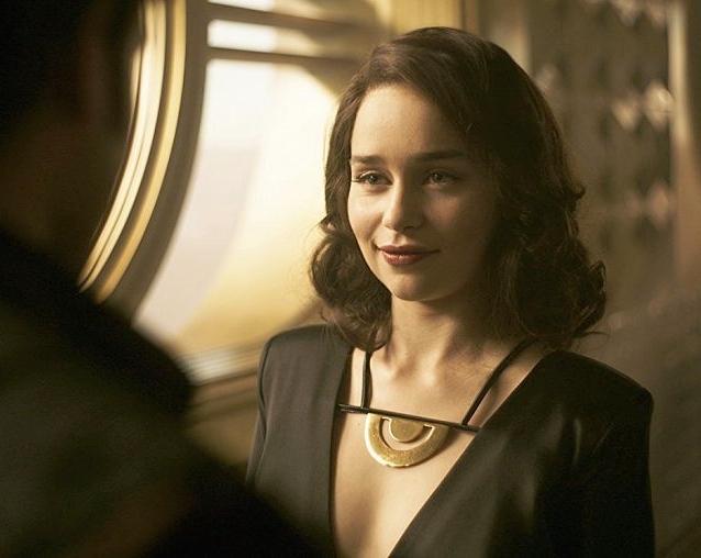 Qi'Ra played by Emilia Clarke