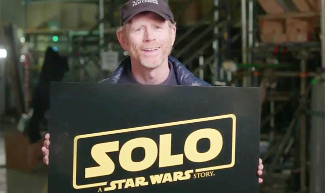 Ron Howard - New Director of Solo