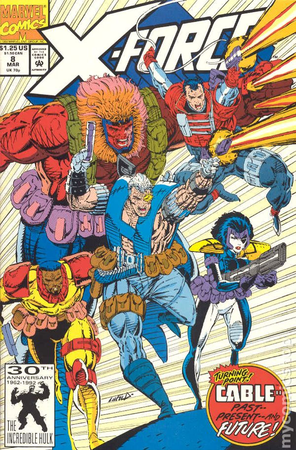 X-Force Issue # 8
