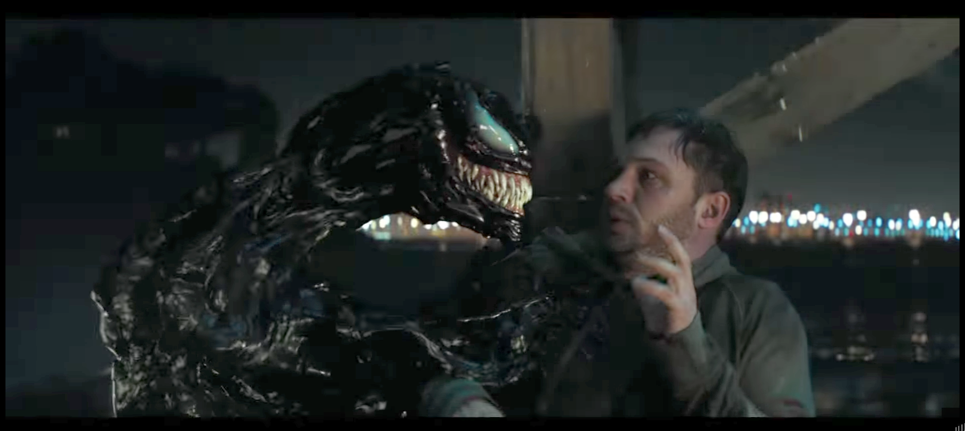 The Symbiote and Eddie Brock: The Conversation