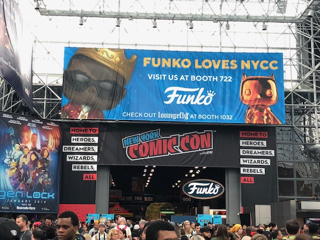 Funko Booth -NYCC 2018