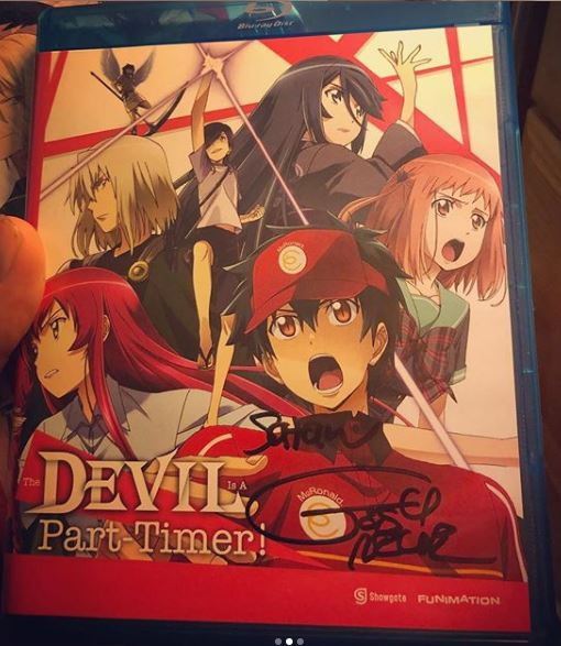 My Autographed Copy from Josh Grelle