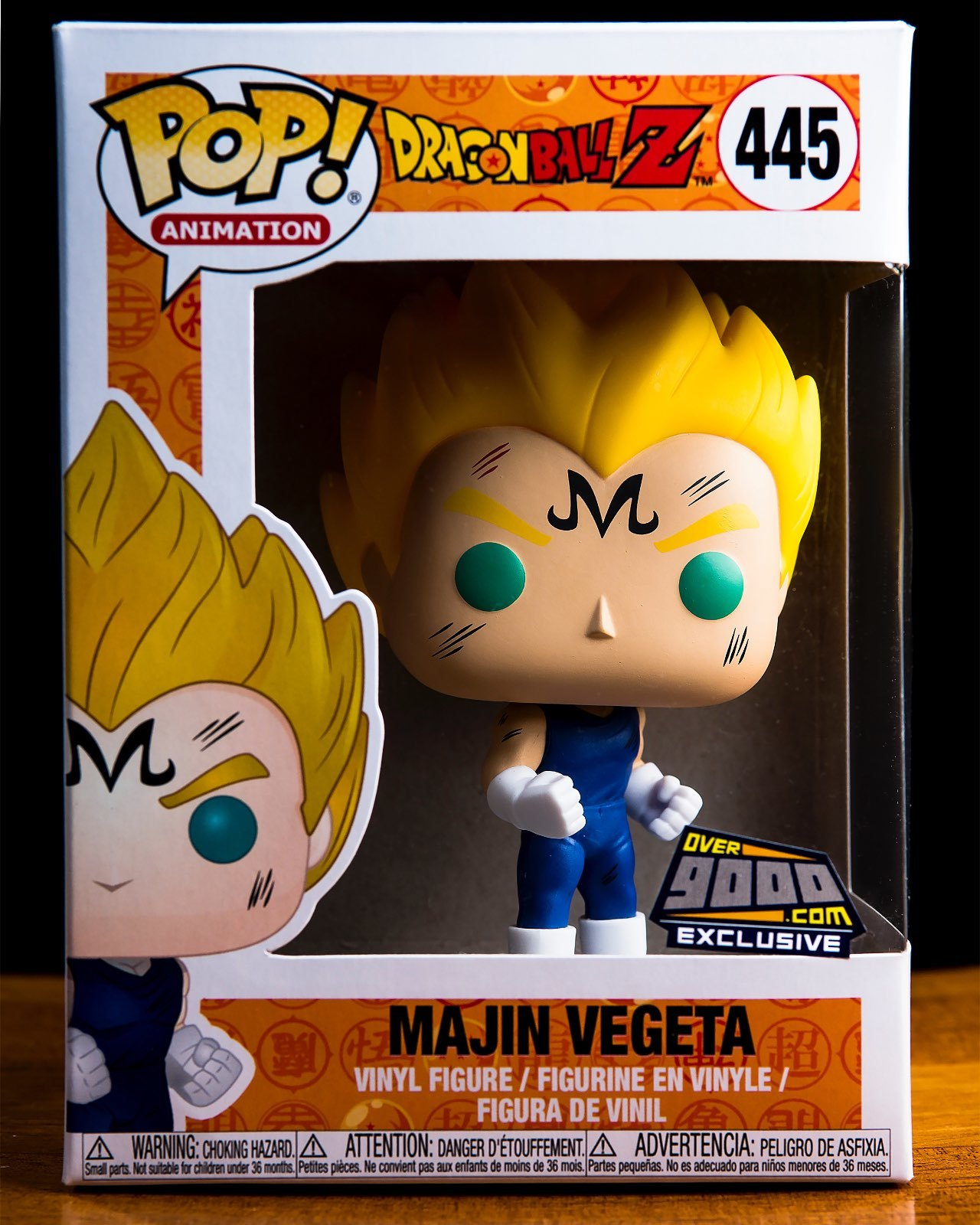 Majin Vegeta Over 9000 Funko Pop