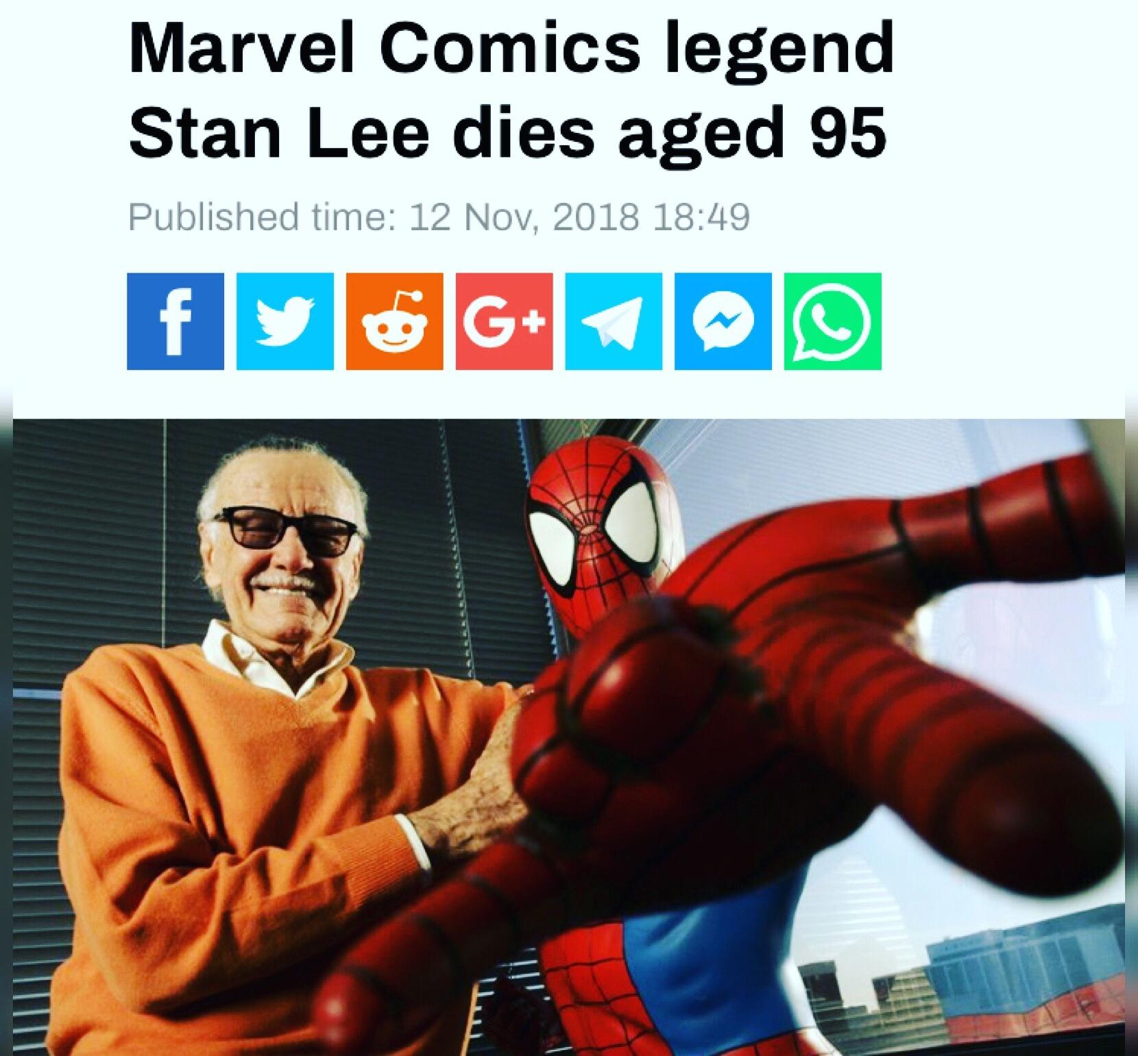 RIP: Stan Lee