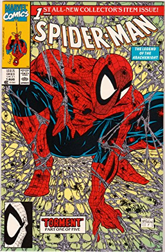 Spider-Man: Torment series written and drawn by Tood McFarlane