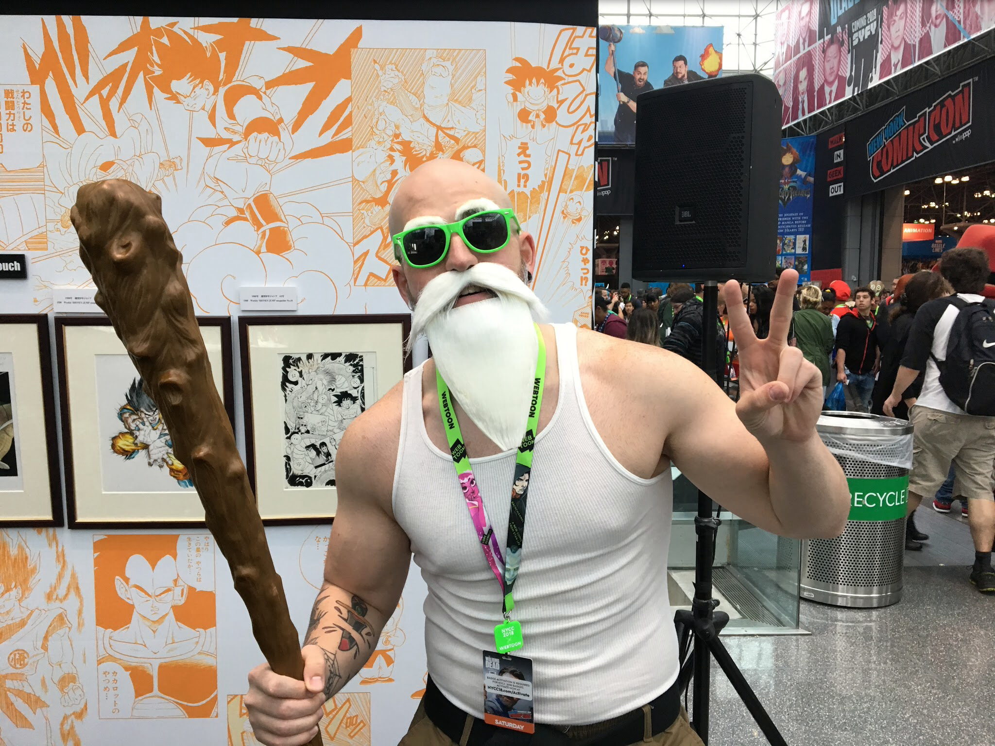 Anthony Musumechi: Master Roshi