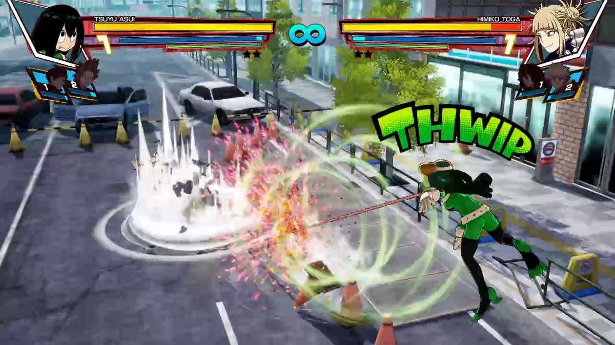Gameplay: Tsuyu 'Froppy' Asui vs Himiko Toga