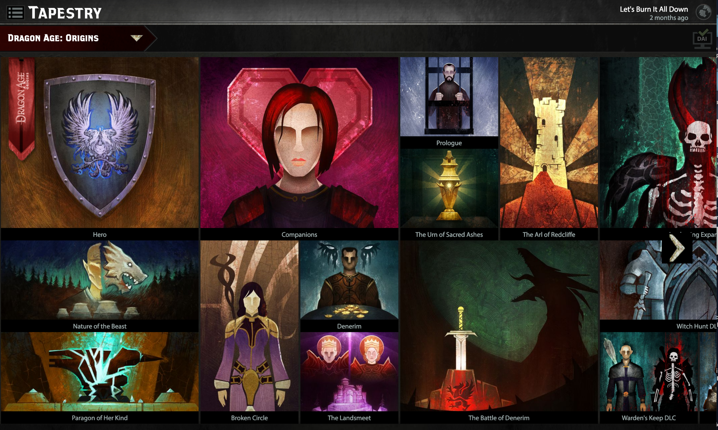 Dragon Age Keep: Bioware's one stop spot for shaping your Dragon Age Experience.