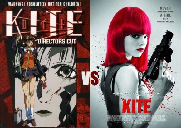 Kite: Anime vs. Live Action