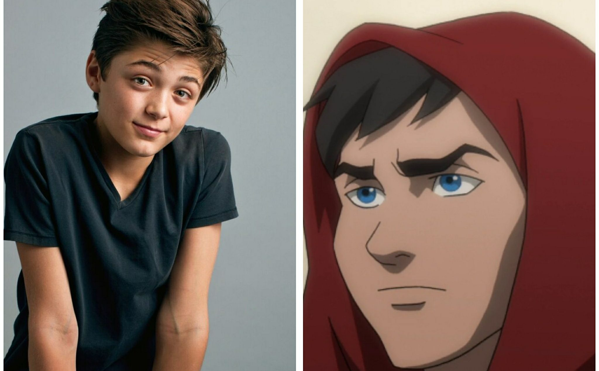 Billy Batson played by Asher Angel