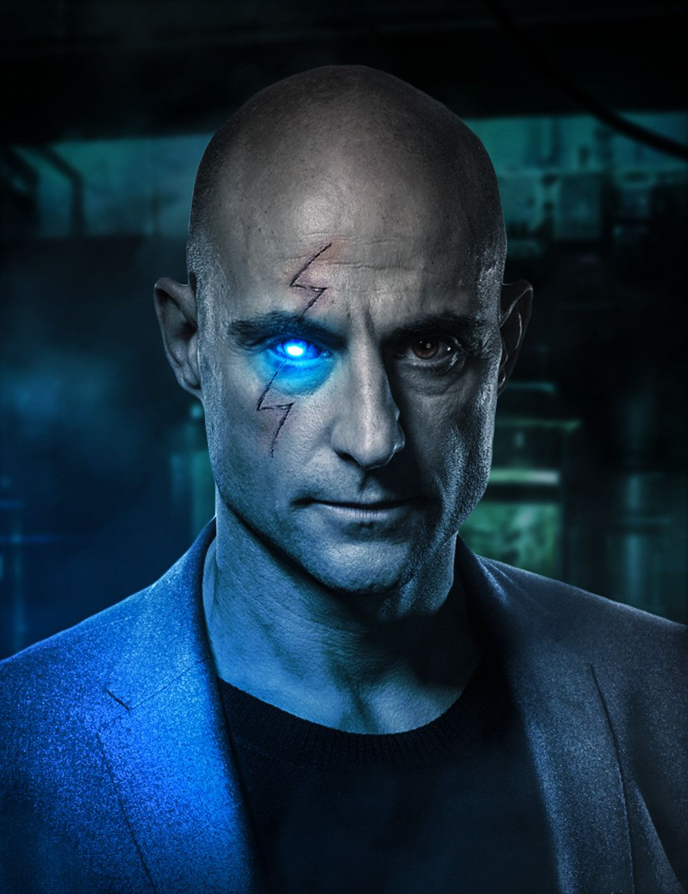 Dr. Sivana played by Mark Strong