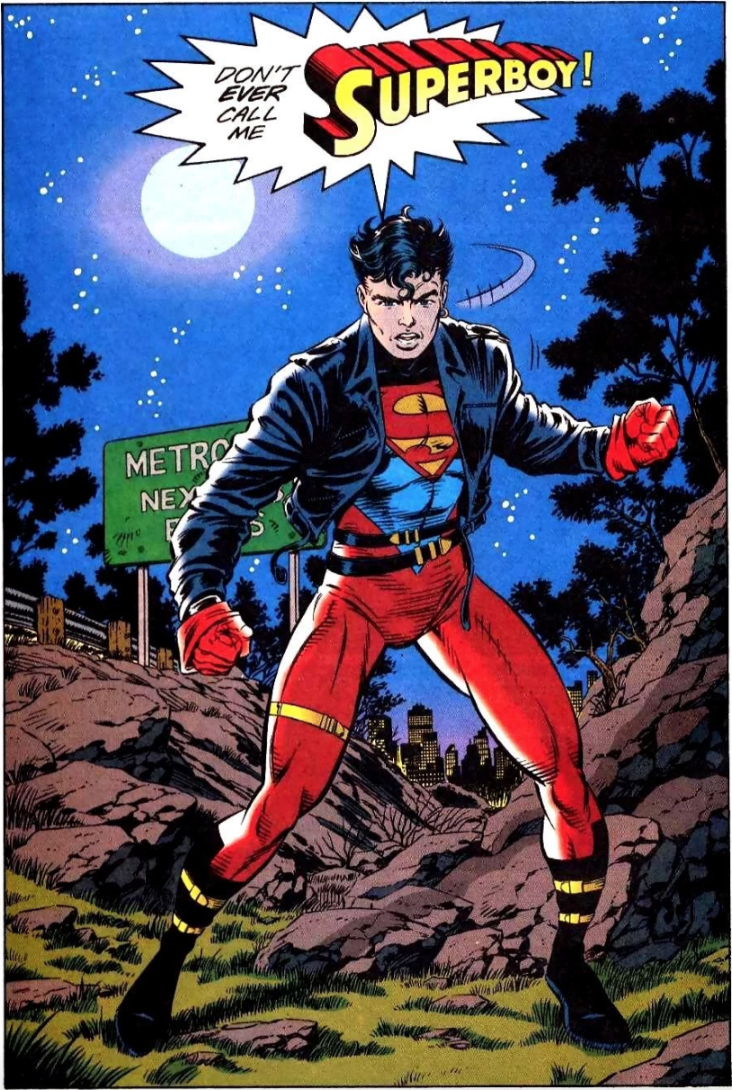 Cadmus' escaped clone of Superman: Superboy