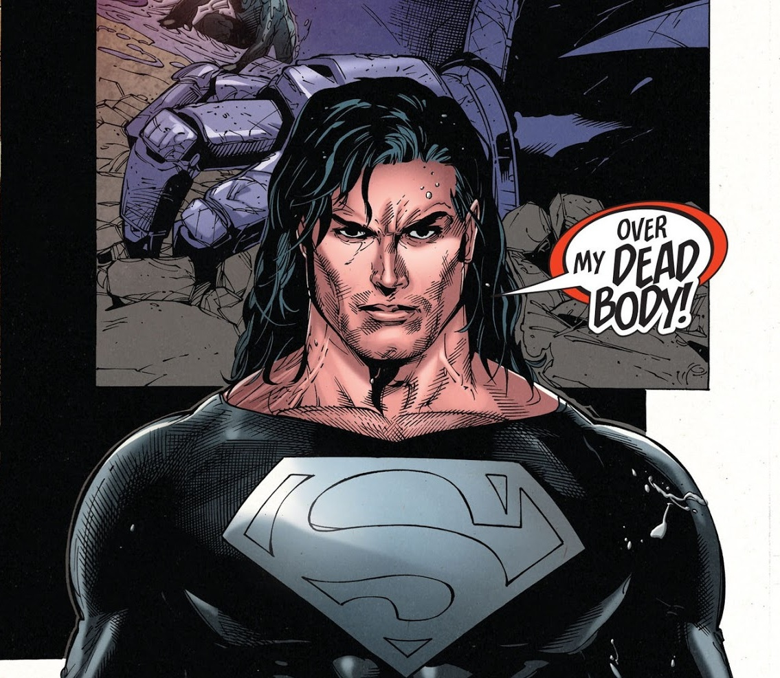 Superman with the Long Hair