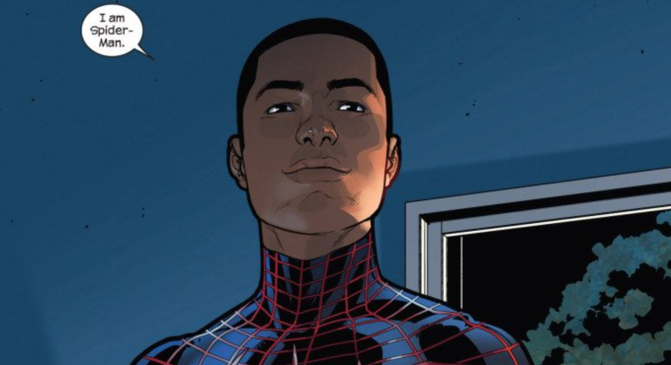 Miles Morales: Ultimate Spiderman - created by Bendis