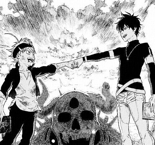Asta (left) & Yuno (right)