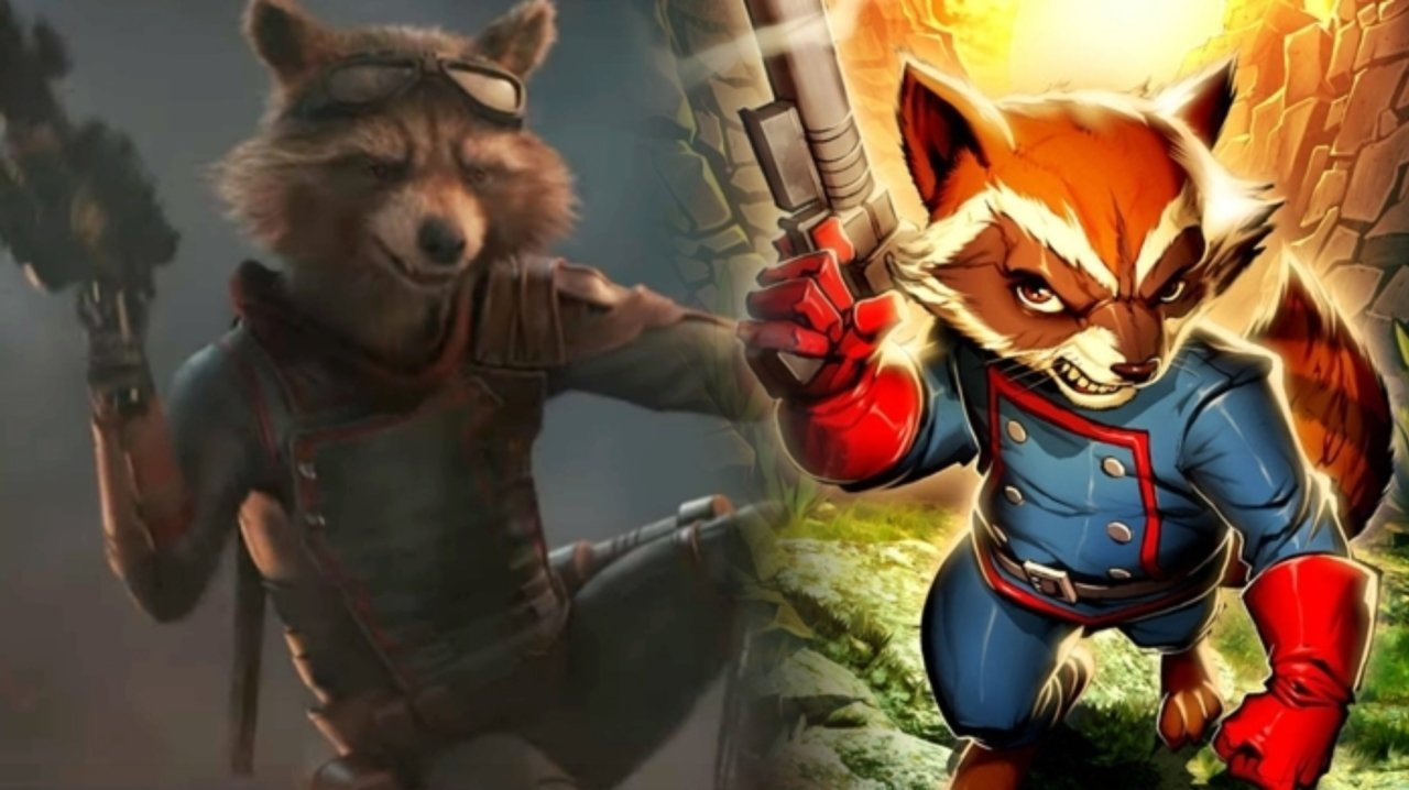 Rocket Raccon (Bradley Copper)