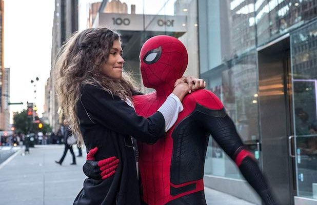 MJ and Spider-Man (Ppst Credits)