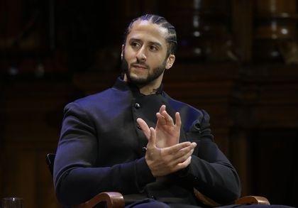 Colin Kapernick - Photo from the NYT.com