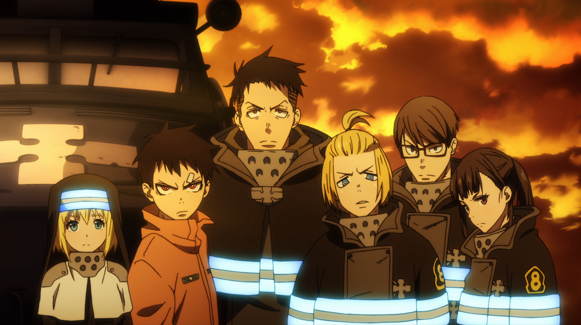 Special Fire Force Company 8