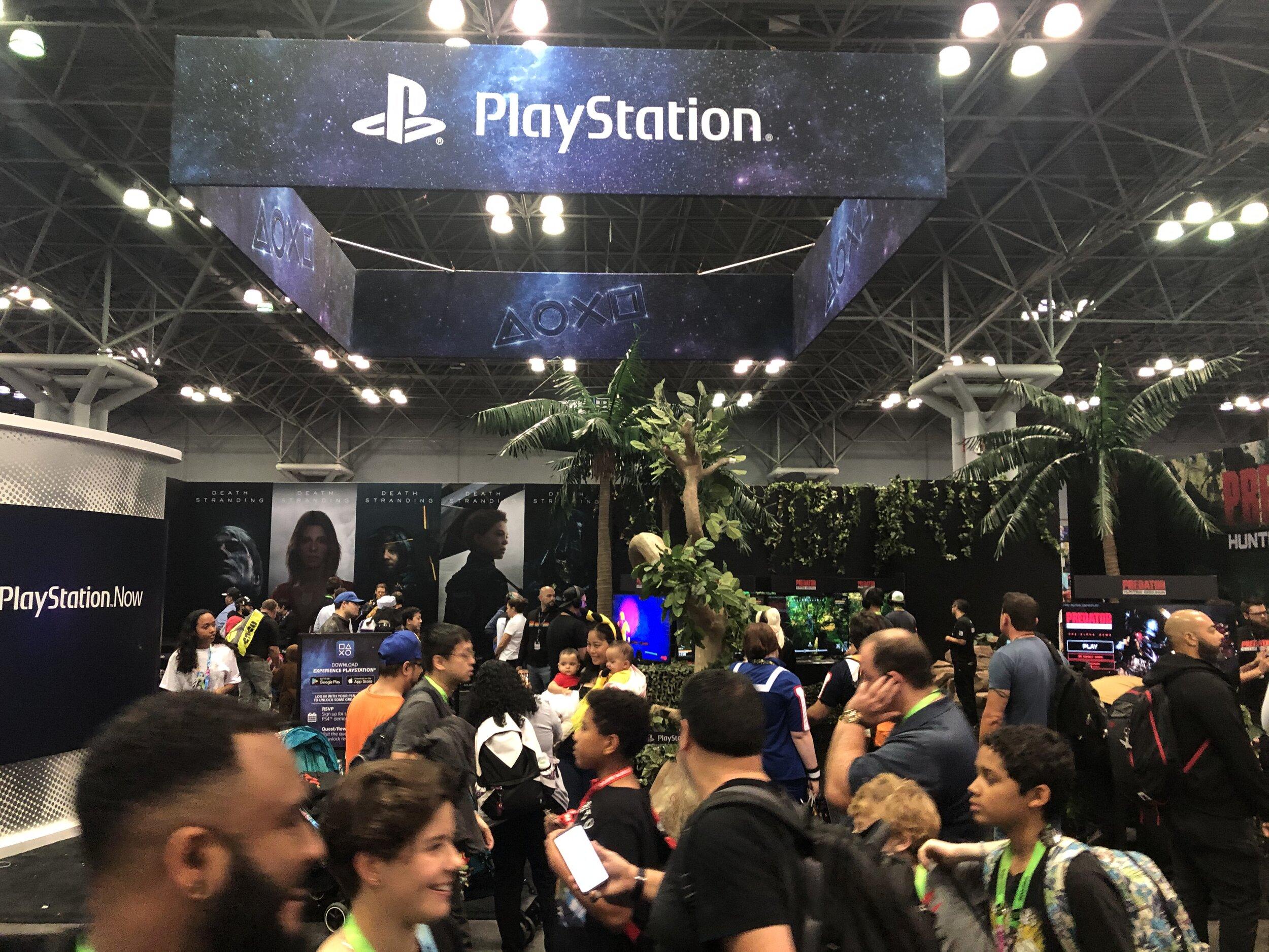 PlayStation Floor