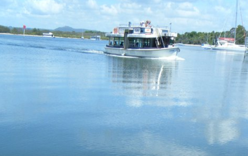 Did you know   Noosa Ferry   offer a scattering service? You can have 40 + guests onboard for a lovely memorial service on the river...