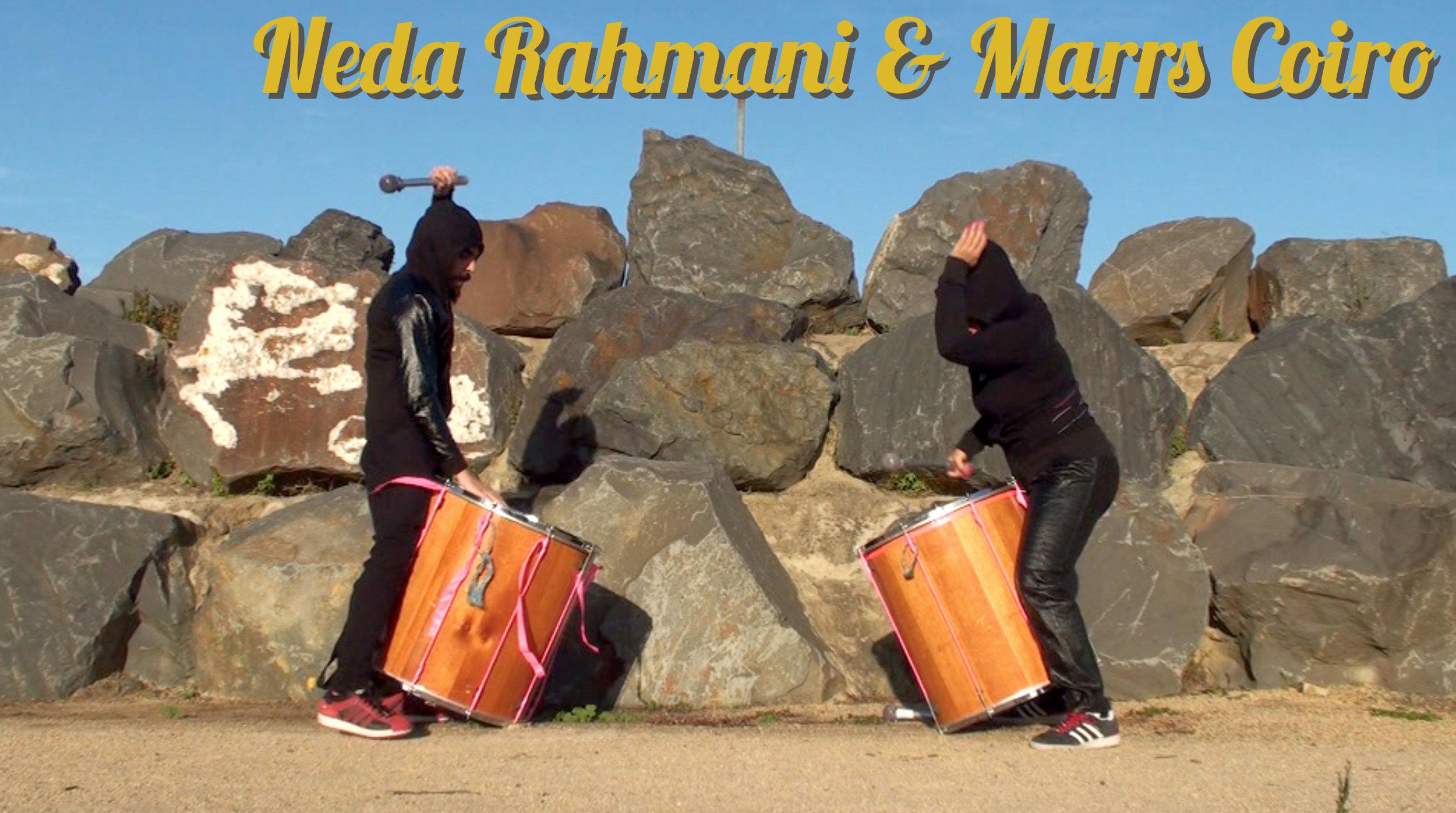 Neda Rahmani and Marrs Coiro.jpg