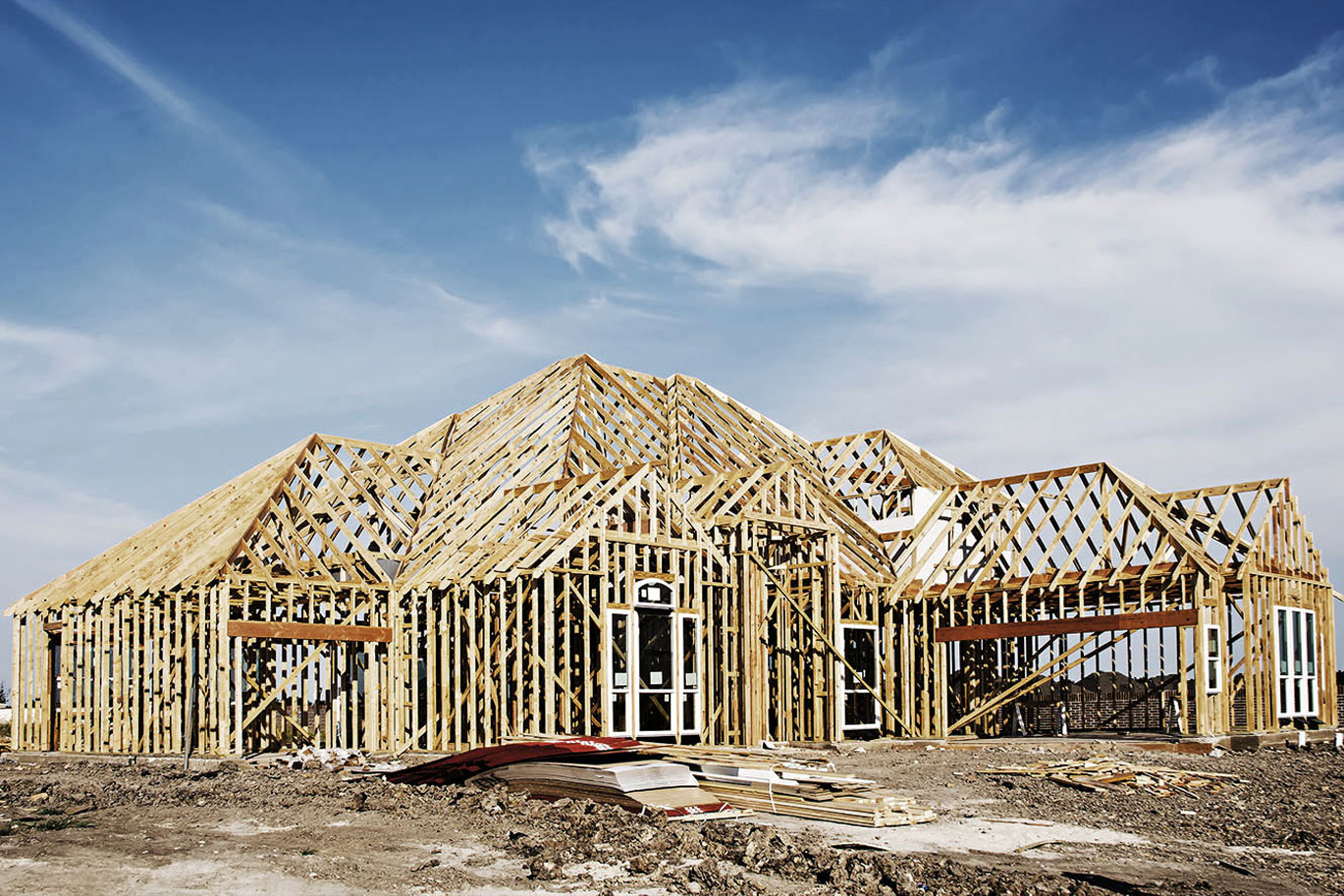 STEP SIXFraming & Rough-in - Your dream starts to take shape. We build a solid structure for your custom home using sustainable materials and quality production that will stand the test of time.